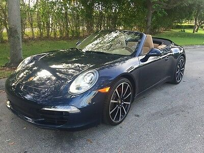 2012 Porsche 911 Carrera S Convertible 2012 Porsche 911 Carrera S Convertible PDK Transmission Late 2012 Version