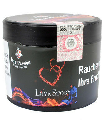True Passion Tobacco 200g Love Story