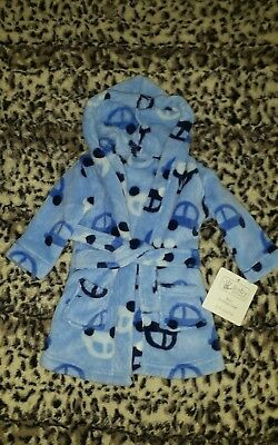 baby boy dressing gown