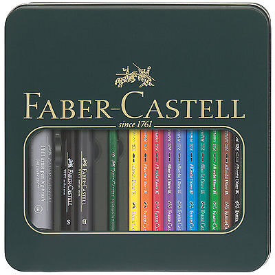 Faber Castell Mixed Media Set