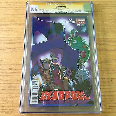 Deadpool 27 CGC 9.6 signed by Jimmy Palmiotti & Joe Kelly!