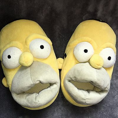 Homer Simpson Slippers Large ( 11- 12 )  The Simpsons