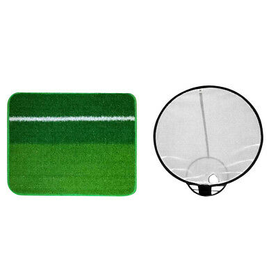 Collapsible Golf Chipping Net with Hitting Mat Great Gift For Golf Beginners