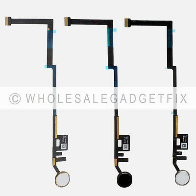 USA Menu Home Button + Flex Cable Replacement Parts For Ipad 5th Generation 2017