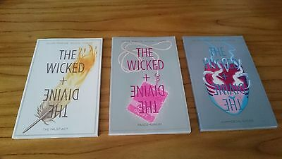 The Wicked + The Divine Vols 1-3 by Kieron Gillen - Image Comics - 3 x TPBs