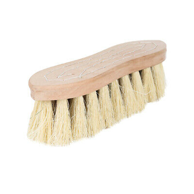 Horze Wood Back Firm Brush Withnatural Mix Bristles - 5.5Cm - Horse Grooming Bru