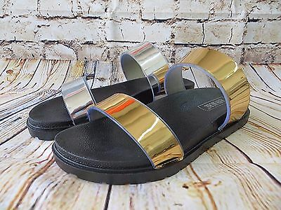 Dallas Jelly Sandal Women Shoes Slip On Slides Slippers Chrome Strap Comfort