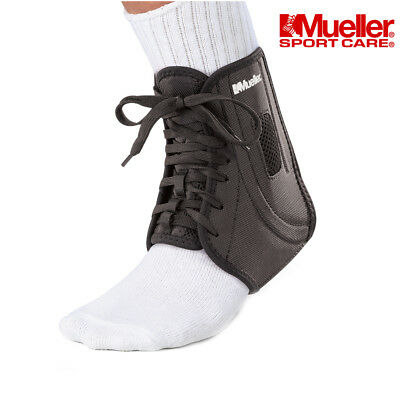 Ankle Brace Support - Mueller ATF 2 Splint Boot Stabilizer for Joint Pain,