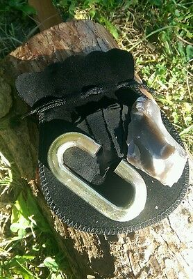 Real Flint & Steel Fire Striker Starter Kit Primitive fire Bushcraft & Survival