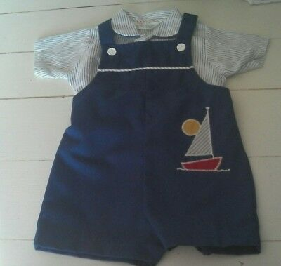 Vintage Baby Boy Outfit