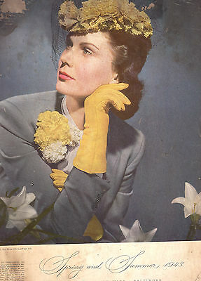 Original 1943 Montgomery Ward Spring And Summer-Baltimore-1162 Pages