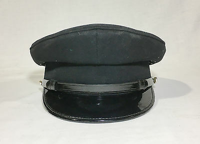 Canadian Military Army Blue Principal Peaked Service Cap