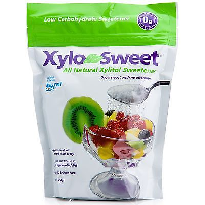 Xylitol Sweetener, 1 lb (454 g) , All Natural -  XyloSweet - Xlear