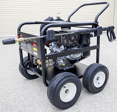 14HP Petrol Powered Pressure Washer - Electric Start - Industrial Grade