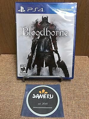 New Bloodborne Playstation 4 Ps4 Sealed Usa Seller Fast Free Shipping!!