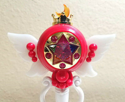 Sailor Moon - Rod & Stick Gashapon Part 4 - Holy Moon Chalice Grail Mini Wand