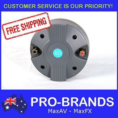 Round 44mm 40WRMS 8-Ohms Titanium Compression Tweeter Replacement Speaker Driver