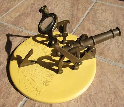 Vintage Noon Signal SUNDIAL CANNON Meridian / Noonday Cannon