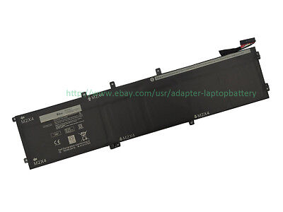 GENUINE 4GVGH 1P6KD Battery for Dell Precision 5510 XPS 15 9550 Series  11 1V 84W