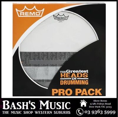 Remo Ambassador Snare Drum Maintenance Pack Drumhead Skins Snare Wire