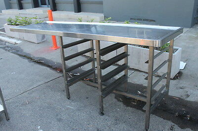 Used Stainless Steel Heavy-Duty Infill Bench
