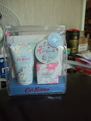Cath Kidson Apple Blossom & Elderflower Manicure Travel Set