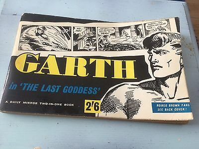 Garth / Romeo Brown Daily Mirror 2 In 1 Book Very Collectible