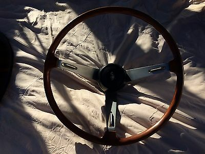 vintage steering wheel great to hang in your man cave