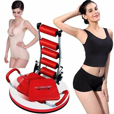 New AB Rocket Twister Abdominal  Fitness Gym Exercise Machine DVD