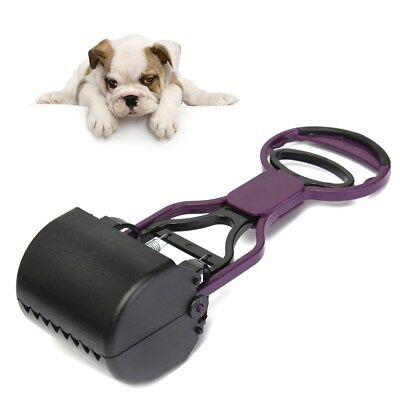 Lazy Dog Pet Handheld Pooper Scooper Jaw Poop Scoop Clean Pick Up Animal Waste