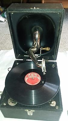 Decca gramophone Great War Trench model suitcase