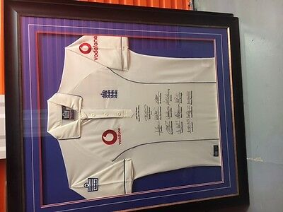 sports memorabilia signed cricket shirt