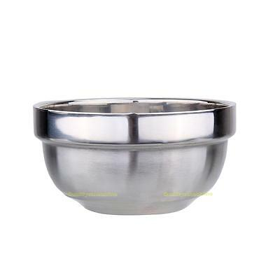 Rice Bowls Double Layer Stainless Steel Food Bowls Child Anti-Hot Insulatation