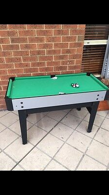 Table Soccer, Pool, Chess, Hockey, Ping Pong.  Activity Table.