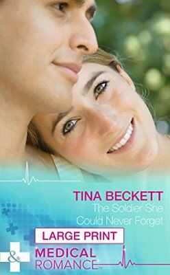The Soldier She Could Never Forget (Mills & Boon Largeprint Medical),HC,Tina Be