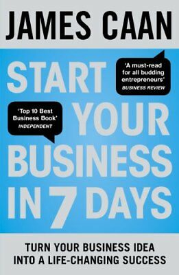Start Your Business in 7 Days,PB,James Caan - NEW