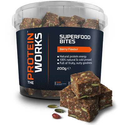 Superfood Bites Premium Vegan Snack from THE PROTEIN WORKS™ - 200g