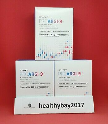Proargi-9+ 3 packs L-arginine Complexer * FAST SHIPPING * FREE ONE SACHET EXTRA