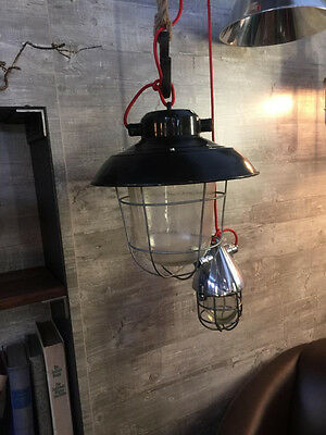 alte industrielampe wandlampe bunkerlampe industrial lamp vintage loft light eur 55 00. Black Bedroom Furniture Sets. Home Design Ideas