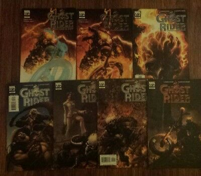 Ghost Rider Road To Damnation 1-6 By Garth Ennis and special edition 1