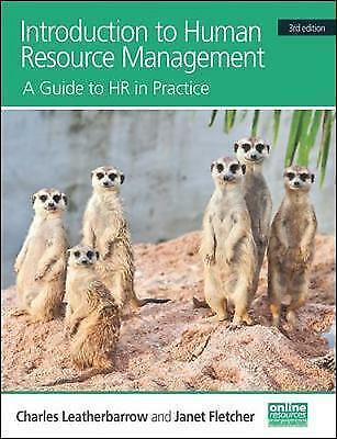 Introduction to Human Resource Management by Charles Leatherbarrow, Janet Fle...
