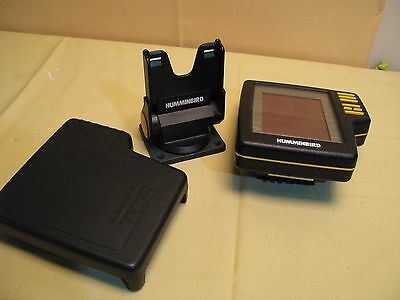 Humminbird TCR-ID1 depthfinder Replacement Monitor with mount and cover
