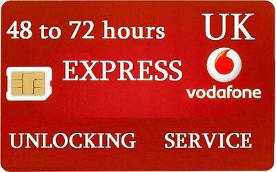 EXPRESS Fast iPhone 6 6s 6s+ 7 Plus Vodafone UK Unlock Unlocking no code needed