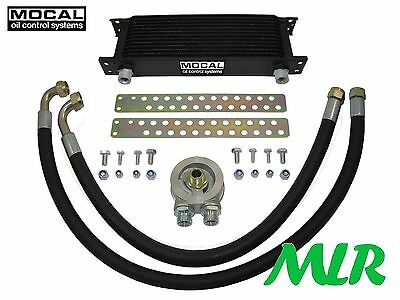 Vauxhall Nova Gte Gsi Sri Opel Corsa A 13-19 Row Mocal Engine Oil Cooler Kit Wu