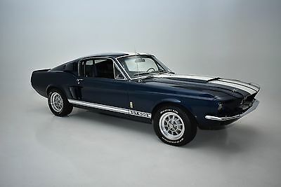 1967 Ford Mustang  1967 Ford Mustang  Shelby GT500  Blue-Metallic FASTBACK  4 SPEED