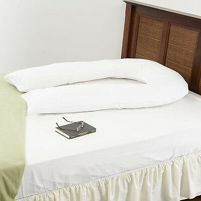 Giant U Pillow - Extra Filled 9ft Pregnancy Maternity Body Back Support