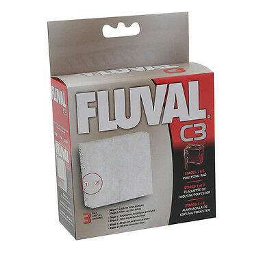 FLUVAL mousse / polypatrone pour c3-filter, NEUF