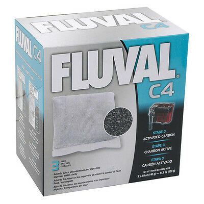 FLUVAL carbone pour c4-filter, NEUF