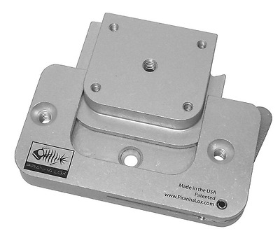 Piranha Lox 9-1000-3000 Surface Mount with Universal Insert Block