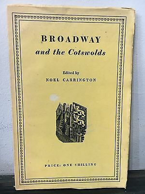 Broadway and the Cotswolds by Noel Carrington